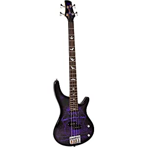 Lindo Pdb Series Purple Dove Electric Bass Guitar With