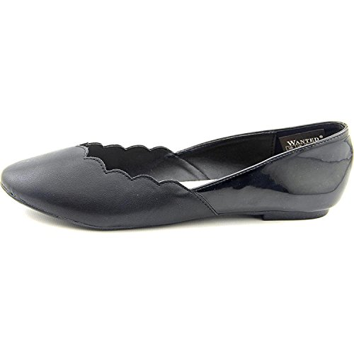Wanted' Kristy Synthétique Chaussure Plate Noir SdDp3Syt