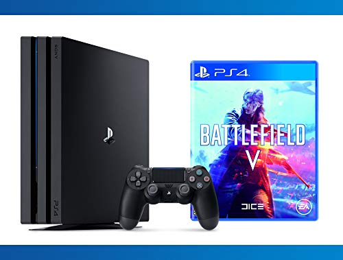 NEW : PS4 Pro 1TB Console + Battlefield V + NBA 2K17 Bundle ( 3 - Items )