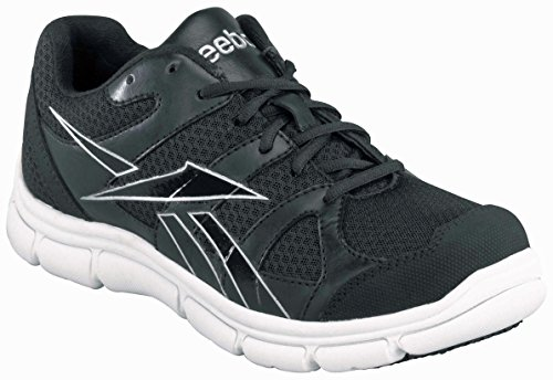 Reebok Men's Sport Grip Composite Toe Sneaker Black/White 10.5 M