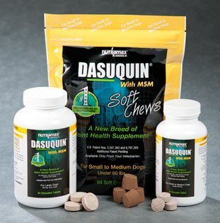 NutraMax 150 Count Dasuquin with MSM Soft Chews for Large Dogs, My Pet Supplies