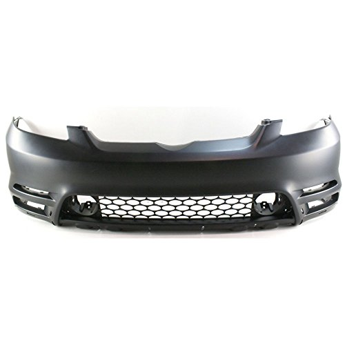 Front Bumper Cover Primed Compatible with 2003-2004 Toyota Matrix