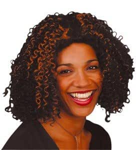 90's Pop Star Mel B Curly Scary Spice Wig (struts-9811) (peluca)