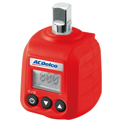 """ACDelco ARM602-3 3/8"""" Digital Torque Adapter (3-59 ft-lbs) with Audible Alert Digital Torque Wrench"""