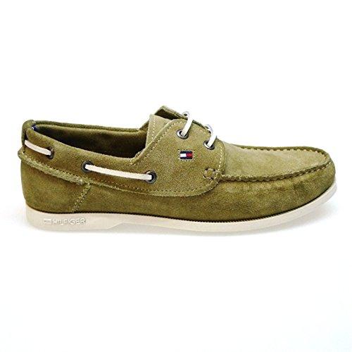 Tommy Hilfiger Zapatos Hombre Mocasines Naúticos Chino3c Arena: Amazon.es: Zapatos y complementos