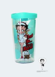 Betty Boop Travel Tumbler Nurse Style