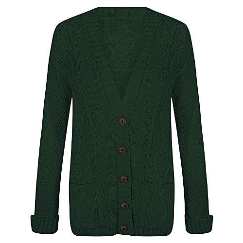 Elegant Gilet Green Fashion Femme Elegant Fashion U0nW8r10
