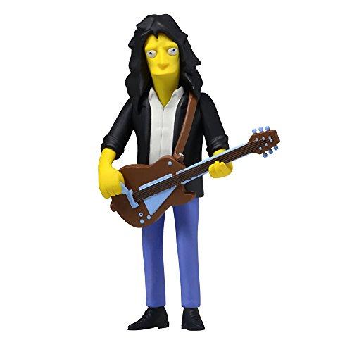 "NECA Simpsons 25th Anniversary Series 4 Joe Perry 5"" (Aerosmith) Celebrity Action Figure"