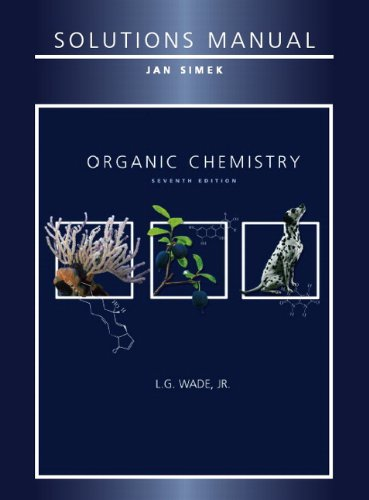 Solutions Manual for Organic Chemistry, 7th Edition