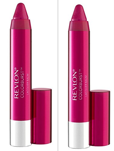 Revlon/Colorburst Lacquer Lip Balm (Vivacious) 0.09 Oz (2.7 (Burst Lacquer Finish)