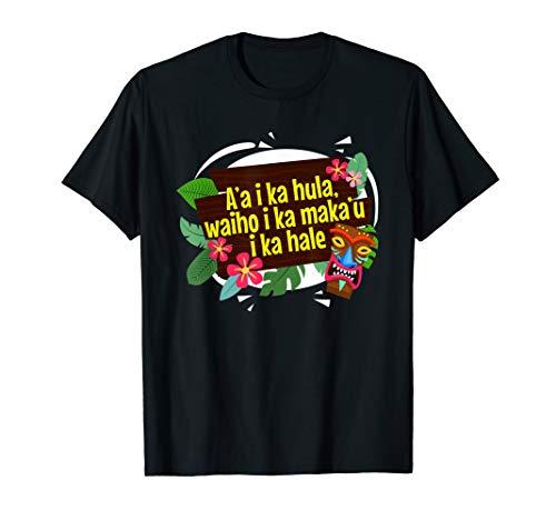 Hawaiian Values Proverbs Language Graphic Art Themed T Shirt -