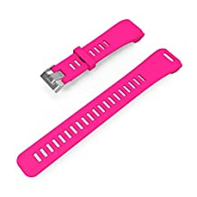 Silicone Band for Garmin Vivosmart HR,Gentman Replacement Strap Wristband for Garmin vivosmart HR
