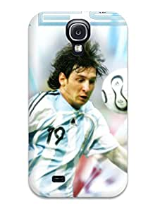Anti-scratch And Shatterproof Lionel Messi Statistics Phone Case For Galaxy S4/ High Quality Tpu Case
