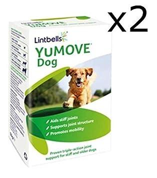 Lintbells YuMOVE Perro Común Suplemento para Rígida y mayores Perros - 240 (2x 120) Tabletas: Amazon.es: Productos para mascotas