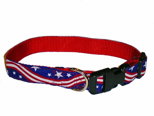 Sandia Pet Products Justice Pattern Large Dog Collar, My Pet Supplies