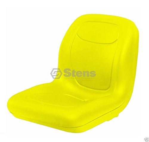 Used John Deere Tractors - Stens 420-179 High Back Seat, Used with John Deere Mowers and Tractors, waterproof vinyl, central drain, replaces John Deere: AM133476, VG11696, 18-5/8