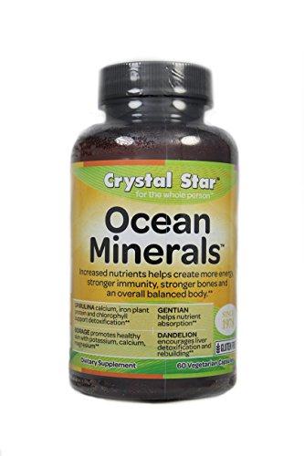 - Crystal Star Ocean Minerals, 60 Vegetarian Capsules