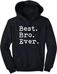Tstars - Best. Bro. Ever. - Gift for Brother Youth Hoodie