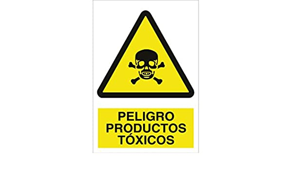 Cofan A66PL148105 Peligro Productos T/óxicos