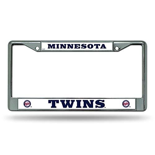 Rico Minnesota Twins MLB Chrome Metal License Plate Frame