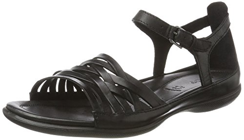 ECCO Women's Women's Flash Lattice Huarache Sandal, Black, 36 EU/5-5.5 M (Ecco Flash)