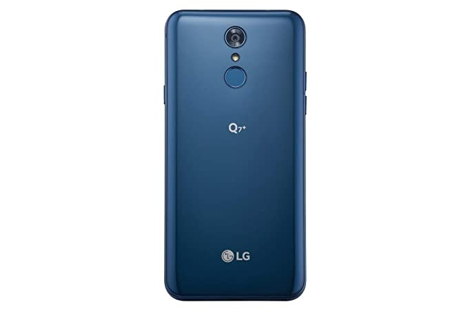LG Q7 Plus Q610TA 5 5in 64GB T-Mobile Android Smartphone - Morrocan Blue  (Renewed)