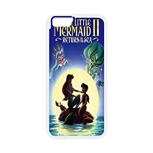 """Hot case The little mermaid Hard Plastic phone Case Cover For Apple Iphone 6,4.7"""" screen Cases XFZ393999"""
