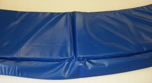Family Store Network Blue 8' Made In USA Replacement Trampoline Pad 10'' Wide
