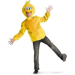 Adult Male Big Bird, Yellow, X-Large (42-46) Costume