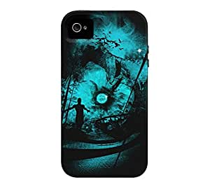 6 day iPhone 4/4s Black Tough Phone Case - Design By Humans