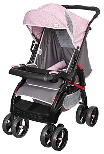 Carrinho de Bebê Upper, Tutti Baby, Rosa