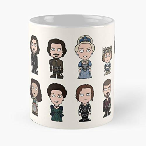 (The Musketeers Porthos Dartagnan Athos Gift Coffee/tea Ceramic Mug Father Day)