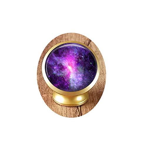 Dwarf Galaxy - Space Tie Tack or Lapel Pin - Men's Brooch Magnetic Car Phone Mount - Pin Dwarfs