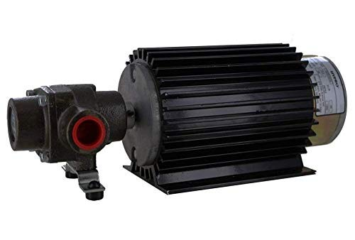 (Hypro 4101N-EH Roller Pump and Electric Motor)