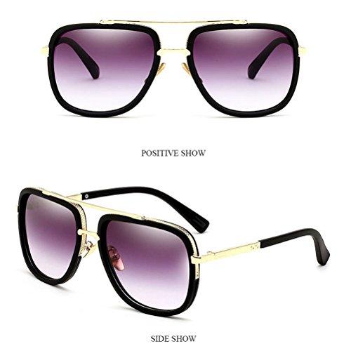 Retenue de De Chain Sunglasses purple Des Air Hommes Mode Des Chaîne Lunettes Lunettes pour Lunettes Soleil des Mens de Plein de Pour and Lunettes Voyage Zhhlaixing Sports wqnzgxTz
