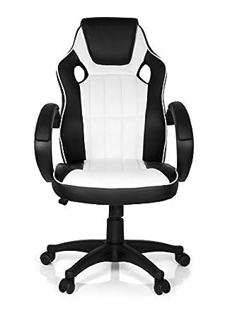Schreibtischstuhl schwarz weiß  MyBuero 444447 Bürostuhl Gaming-Stuhl GAMING ZONE PRO 100, Kunst ...