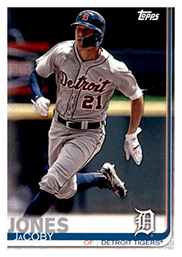 2019 Topps Team Edition Detroit Tigers #DT-10 JaCoby Jones Detroit Tigers Baseball Card