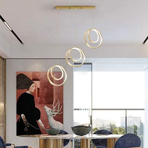 &Pendant Chandelier Chandelier, Black Restaurant Bar Chandelier, Simple Xiandi PC Lampshade Restaurant Designer Decoration Lighting Fixture (Color : A)