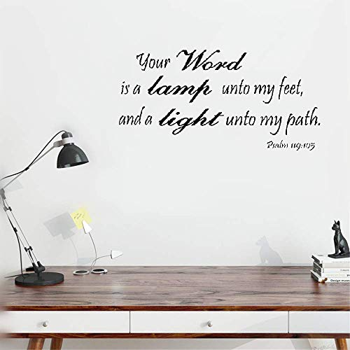 Bible Verse Light To My Path in US - 1