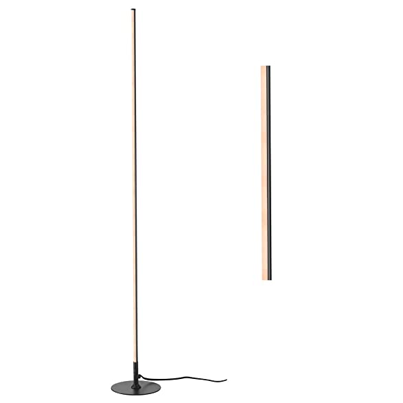 JONATHAN Y JYL7007C Iris 59.5 Dimmable Integrated, Black, Modern, Contemporary LED Floor Lamp