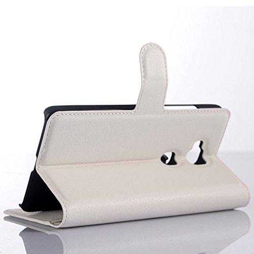 Manyip Funda Huawei Mate 7 mini(D3 mini),Caja del teléfono del cuero,Protector de Pantalla de Slim Case Estilo Billetera con Ranuras para Tarjetas, Soporte Plegable, Cierre Magnético(JFC6-3) E