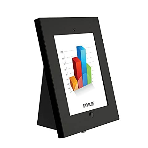 Pyle PSPADLKW5 Universal Tamper-Proof Anti-Theft iPad Kiosk Multi-Mount Stand Holder, Fits All 2nd, 3rd, 4th and Air Generation (Android Kiosk)