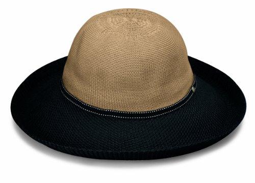 5cc3151f36e Wallaroo Hat Company Women s Victoria Two-Toned Sun Hat - UPF ...