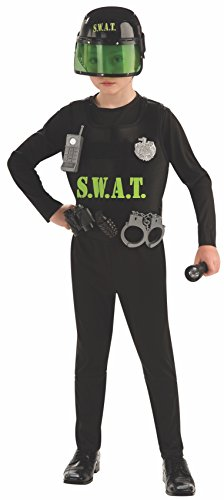 Young Heroes Child's S.W.A.T. Team Costume, Medium (Good Team Costumes)