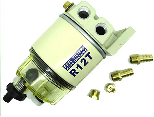 Marine Spin-on Fuel Filter Water Separator R12T For RACOR