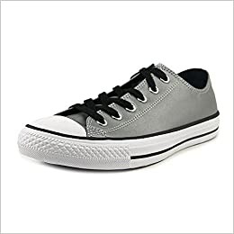 1762af195f68 Converse Unisex Chuck Taylor All Star Ox Silver Black Basketball Shoe 10  Men US 12 Women US  0888753024319  Amazon.com  Books