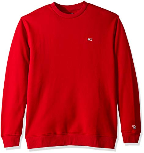 Tommy Jeans Men's Sweatshirt Relaxed Fit Classics Collection, Samba, Small - Tommy Hilfiger Collection
