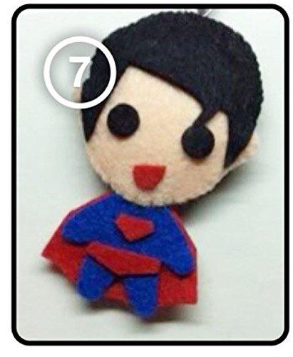 [SJ Super Junior Siwon - Super Man Good Friends SS4 [Fancy Costume] KPOP Handmade Doll Keychain] (2ne1 Kpop Costumes)