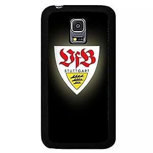 Samsung Galaxy S5 Mini Case,Verein f¨¹r Bewegungsspiele Stuttgart 1893 Logo Protective Phone Case Black Hard Plastic Case Cover For Samsung Galaxy S5 Mini VfB Stuttgart