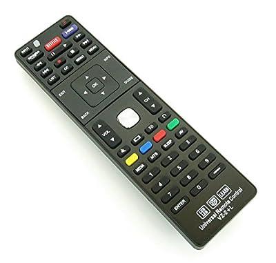 Vizio XRT122 Universal Remote Control for All VIZIO BRAND TV, Smart TV - 1 Year Warranty(VZ-2+AL)